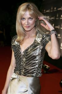 Joely Richardson at the Laureus/Vogue Welcome party.