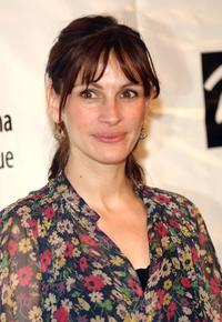 Julia Roberts at the 72nd Annual Drama League Awards ceremony.