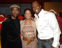 Chris Rock, Malaak Rock and Terry Crews at the Salvation Army and Safe Horizon very special