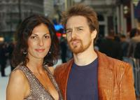 Sam Rockwell and Gina Bellman at the UK Premiere of