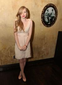 Portia Doubleday at the after party of the California premiere of