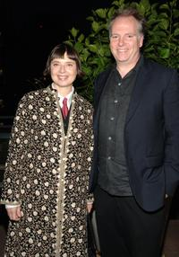 Isabella Rosellini and Guy Maddin at the Film Company's celebration of the premiere of