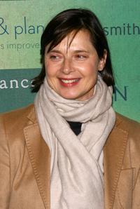 Isabella Rossellini at the Sundance channel's The Green launch party.