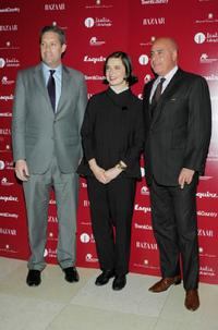 Isabella Rossellini, Jim Taylor and Kevin W. Martinez at the