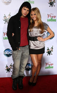 Cody Longo and Cassie Scerbo at the California premiere of