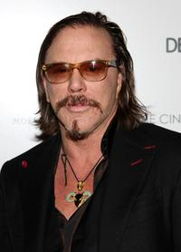Mickey Rourke at the special screening of