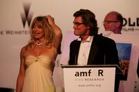 Kurt Russell and Goldie Hawn at the Cinema Against AIDS 2007 in aid of amfAR during the 60th International Cannes Film Festival.
