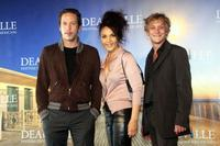 Reda Kateb, Faridah Rahouadj and Michael Eperlding at the photocall of