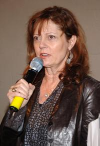 Susan Sarandon at the Nest Foundation Benefit in New York City.