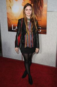 Lily Collins at the Los Angeles premiere of