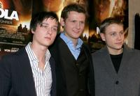 Tom Schilling, Director Dennis Gansel and Max Riemelt at the premiere of