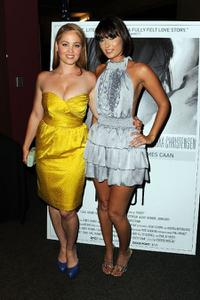 Erika Christensen and Wendy Glenn at the Los Angeles premiere of