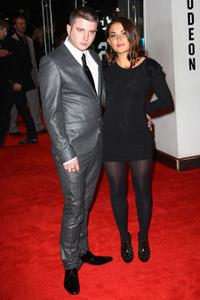 Ben Drew and Guest at the European premiere of