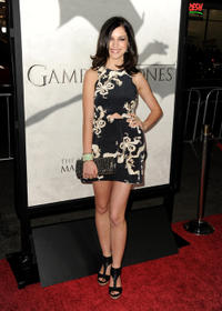 Alexis Knapp at the California premiere of