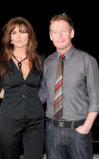 Alice Parkinson and Richard Roxburgh at the photocall of