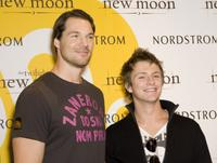 Daniel Cudmore and Charlie Bewley at the promotion of