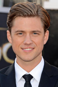 Aaron Tveit at the 85th Annual Academy Awards.