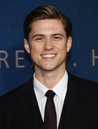 Aaron Tveit at the New York premiere of