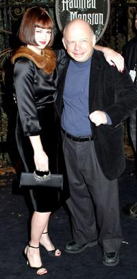 Dina Waters and Wallace Shawn at the world premiere of