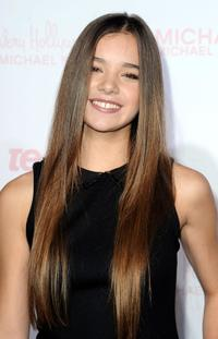 Hailee Steinfeld at the 8th Annual Teen Vogue Young Hollywood party.
