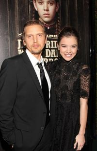 Barry Pepper and Hailee Steinfeld at the of the screening of
