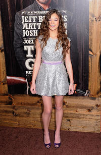 Hailee Steinfeld at the New York premiere of