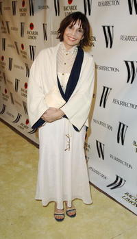 Talia Shire at the W Magazine & Resurrection with Bacardi Limon tribute to vintage couture.
