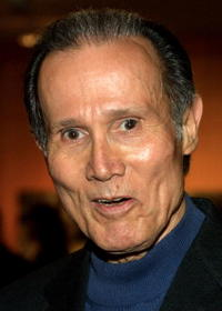 Henry Silva at the Memorial Tribute for Richard Sylbert at the Academy of Motion Pictures Arts and Sciences.