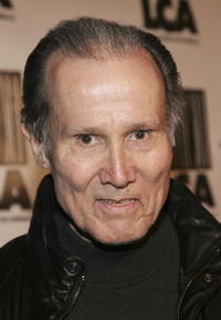 Henry Silva at the premiere of