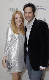 Jonathan Silverman and Jennifer Finnigan at the Gersh Agency pre-Emmy party.