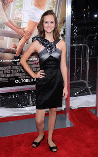 Britt Flatmo at the New York premiere of