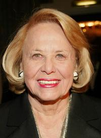 Liz Smith at the Museum of Television and Radio's annual gala.