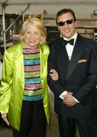 Liz Smith and Peter Elliot at the