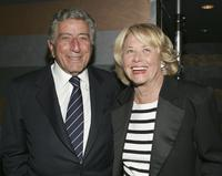 Tony Bennett and Liz Smith at the surprise 80th birthday party for Bobby Short.