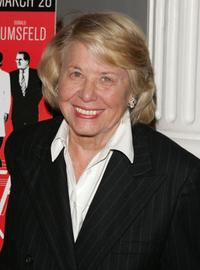 Liz Smith at the opening night of