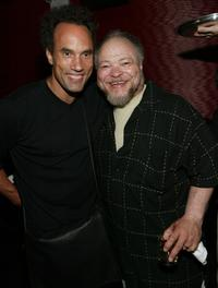 Roger Guenveur Smith and Stephen McKinley Henderson at the screening of