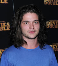 Thomas McDonell at the New York premiere of