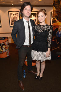 Thomas McDonell and Jane Levy at the California premiere of