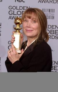 Sissy Spacek at the 59th Annual Golden Globe Awards at the Beverly Hilton.