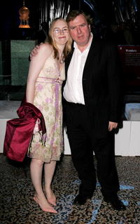 Timothy Spall and his daughter Mercedes at the world premiere of