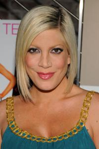 Tori Spelling at the celebration of the release of her new book