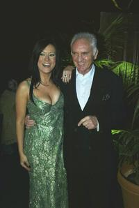 Terence Stamp and Jennifer Tilly at the after-party for