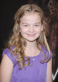 Megan Charpentier at the New York premiere of