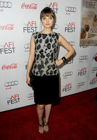 Bella Heathcote at the Los Angeles Times Young Hollywood Panel during the 2012 AFI Fest 2012 in California.