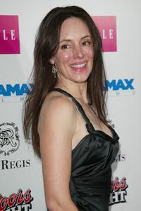 Madeleine Stowe at the Miramax Pre-Oscar Party.