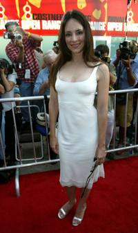 Madeleine Stowe at the world premiere of