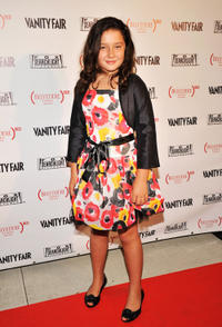 Amara Miller at the Belvedere Vodka and Vanity Fair Celebration