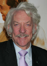 Actor Donald Sutherland at the Hollywood premiere of