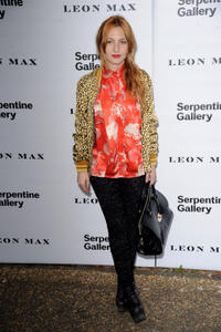 Josephine de la Baume at the Serpentine Gallery Summer party in London.