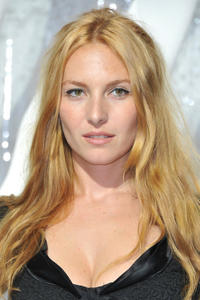 Josephine de la Baume at the Chanel Ready to Wear Spring / Summer 2012 during the Paris Fashion Week in France.